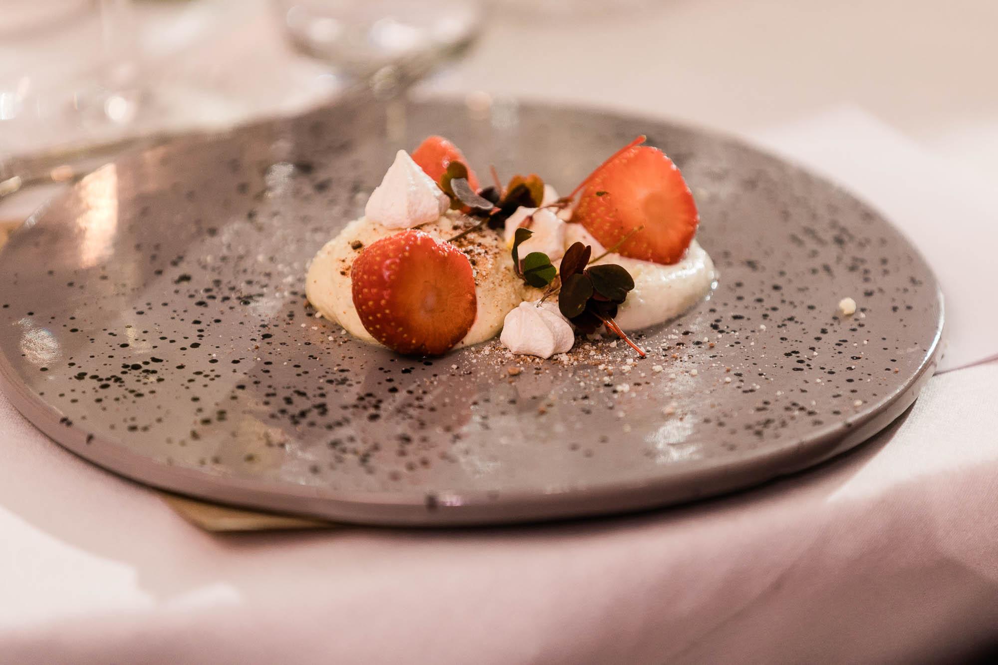 Dessert  hos Hotel Scheelsminde i Aalborg