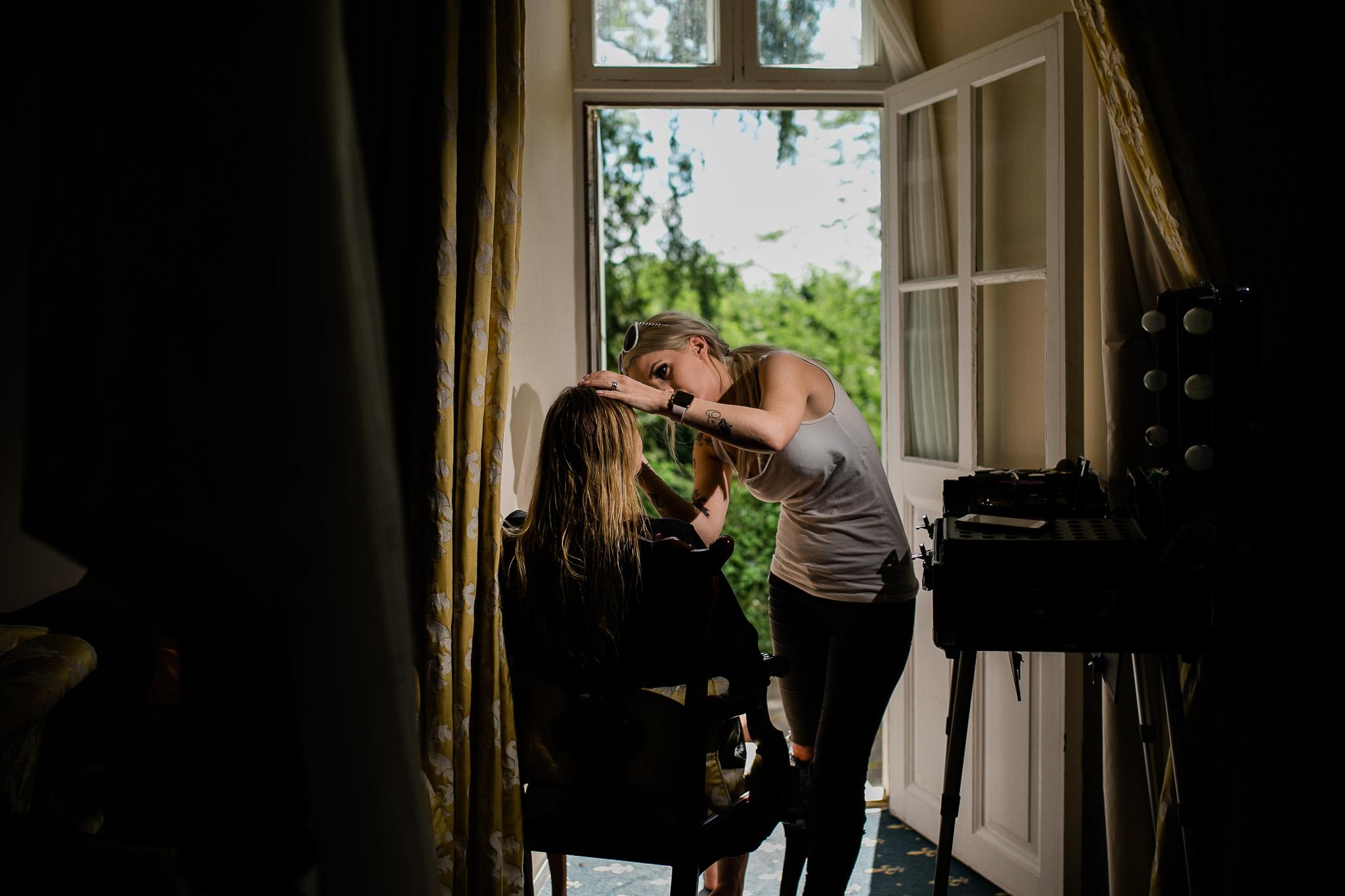 bryllup frisør