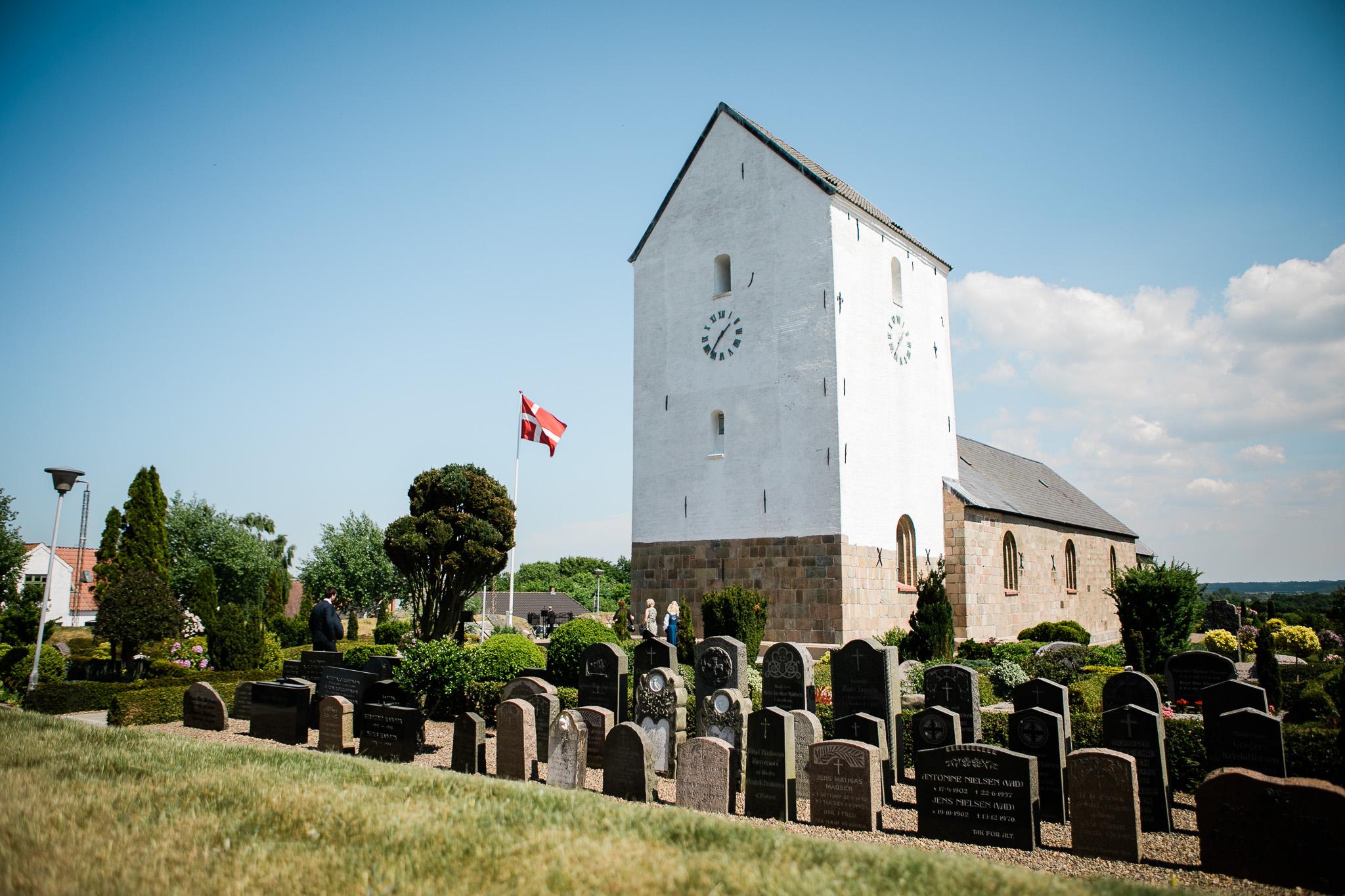 Bryllup torslev kirke