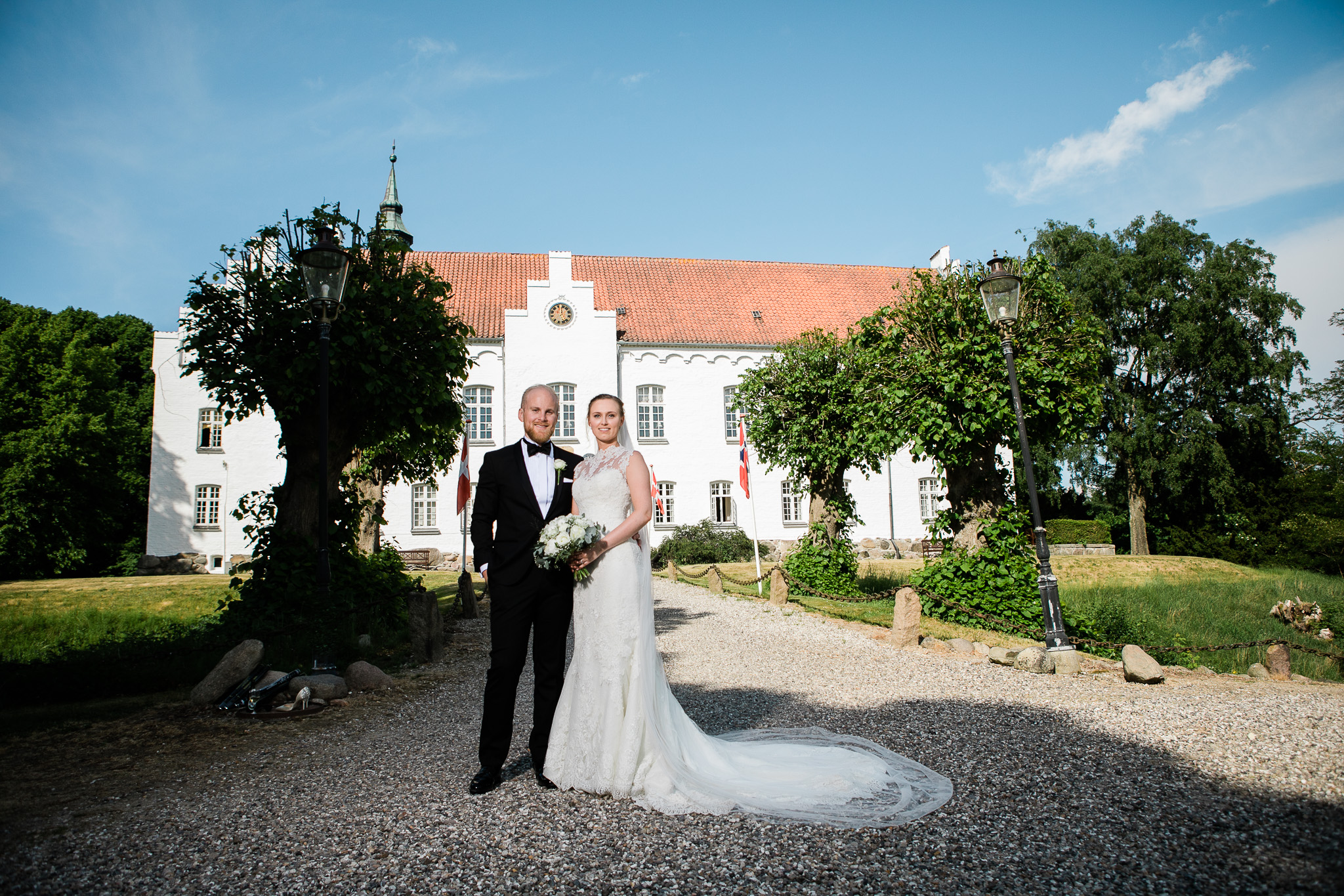Bryllup på Kokkedal Slotshotel
