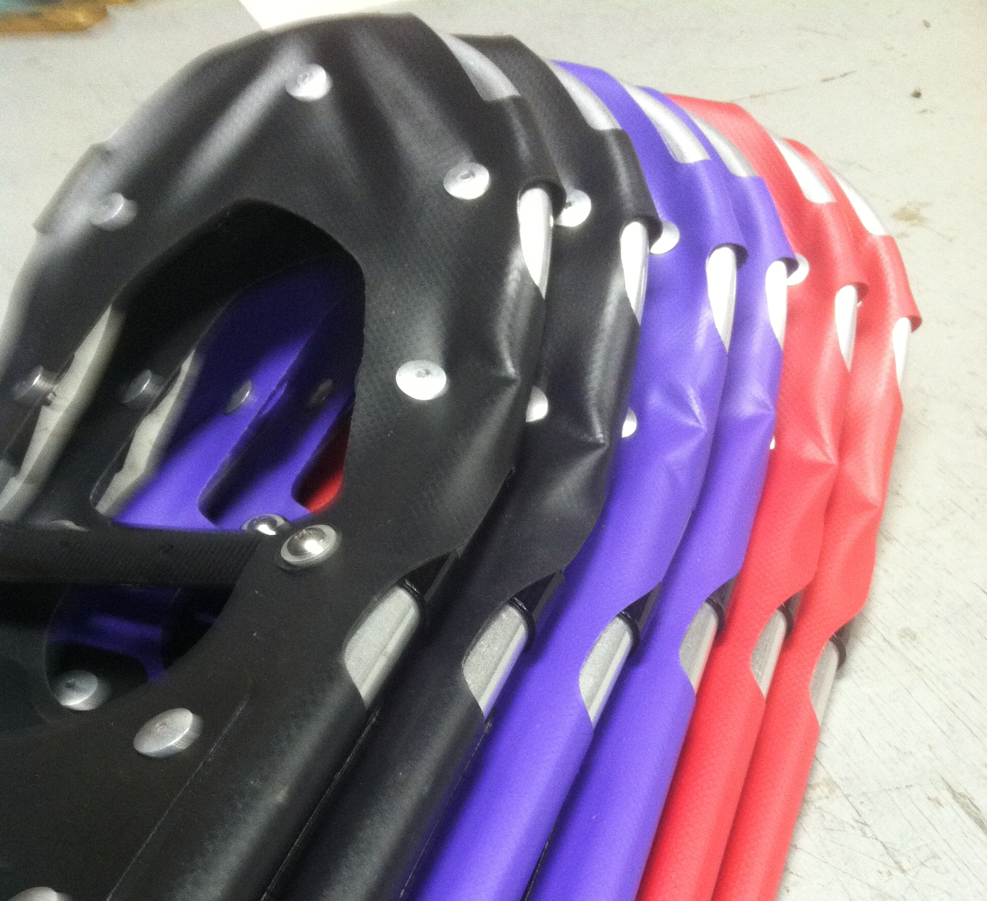 Colorful NeviTREK Snowshoes