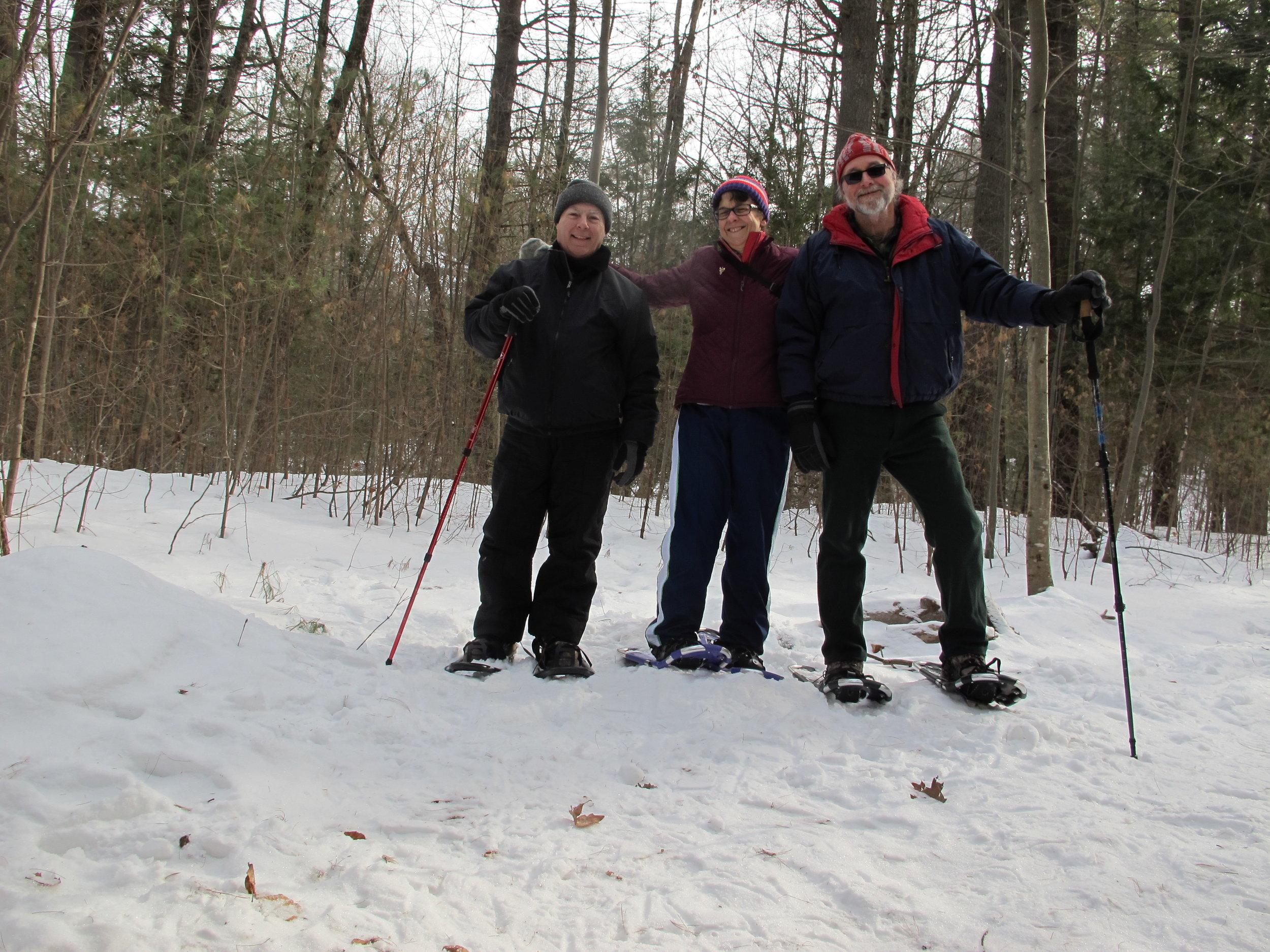 Wilton Camp Saratoga Snowshoe hike