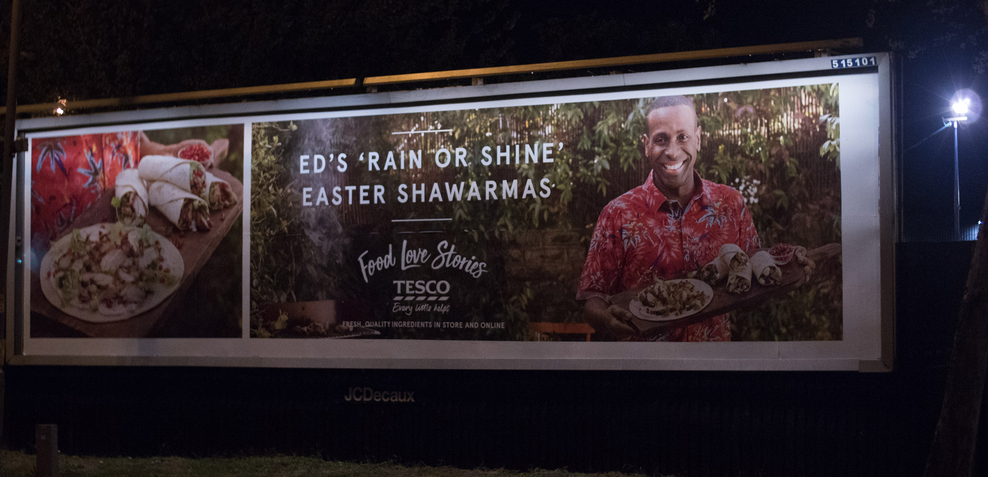 TESCOS FOOD STORIES  - NATIONAL INSTORE/ ONLINE / BILLBOARD CAMPAIGN 2017