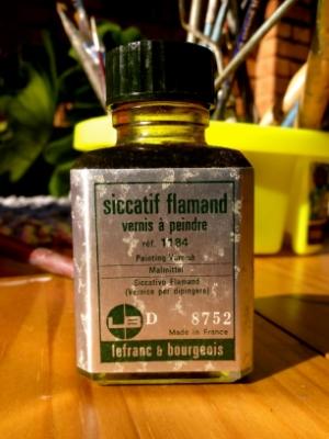 Siccatif Flamand,   secativo