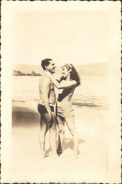 Orlando Teruz  e  Nilza Teruz, 1935