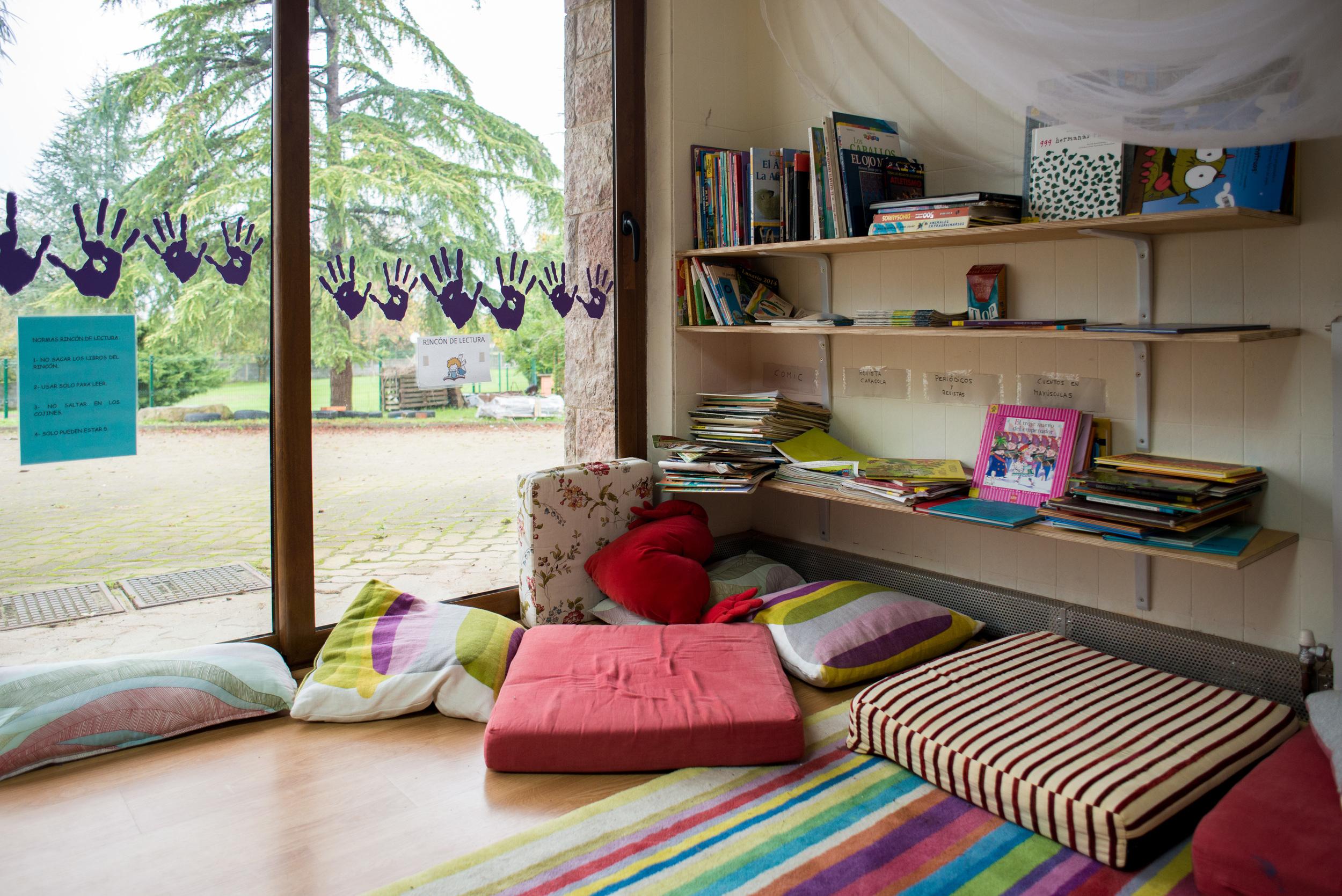 Bural : ambientes de aprendizaje cuidados que invitan a la serenidad y la concentración.