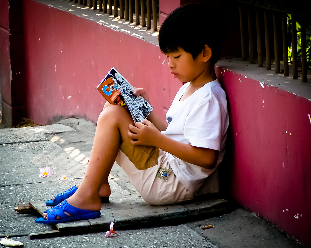 "Foto: "" Reading in Peace "", por Susana Fernández,  CC BY-ND 2.0"