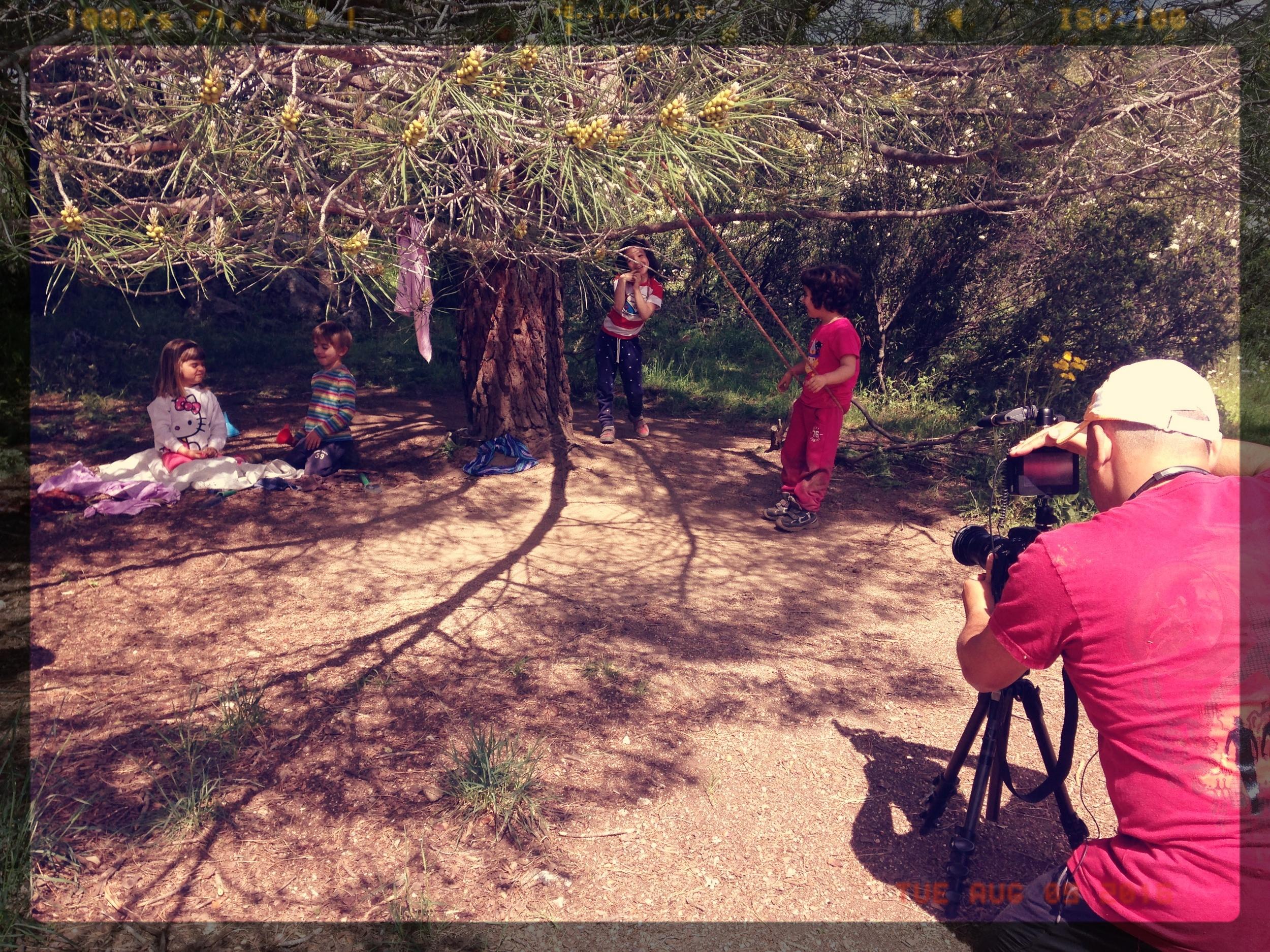 """Un día jugando en el bosque, con """"El Saltamontes"""""""