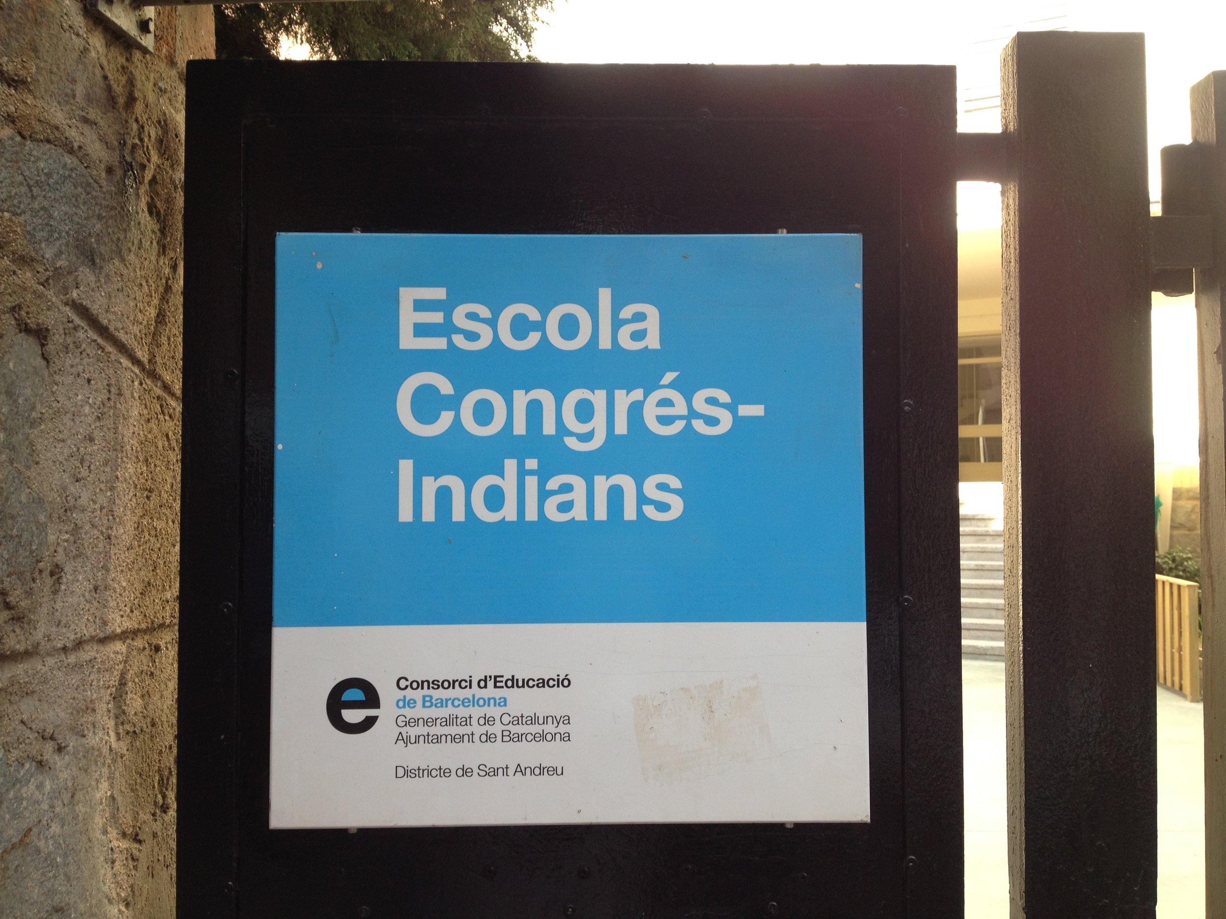 La escola Congrés-Indians de Barcelona es un centro público pionero en emplear una pedagogía viva y activa.