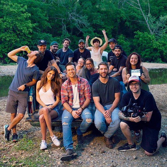 """Back to back music videos, and we started off day 1 with our buddy @lucashoge for his single """"Dirty South."""" Such a fun and energetic crew to work with! Directed by @jeffjohnsonimages #flyhifilms #dirtysouthLH"""