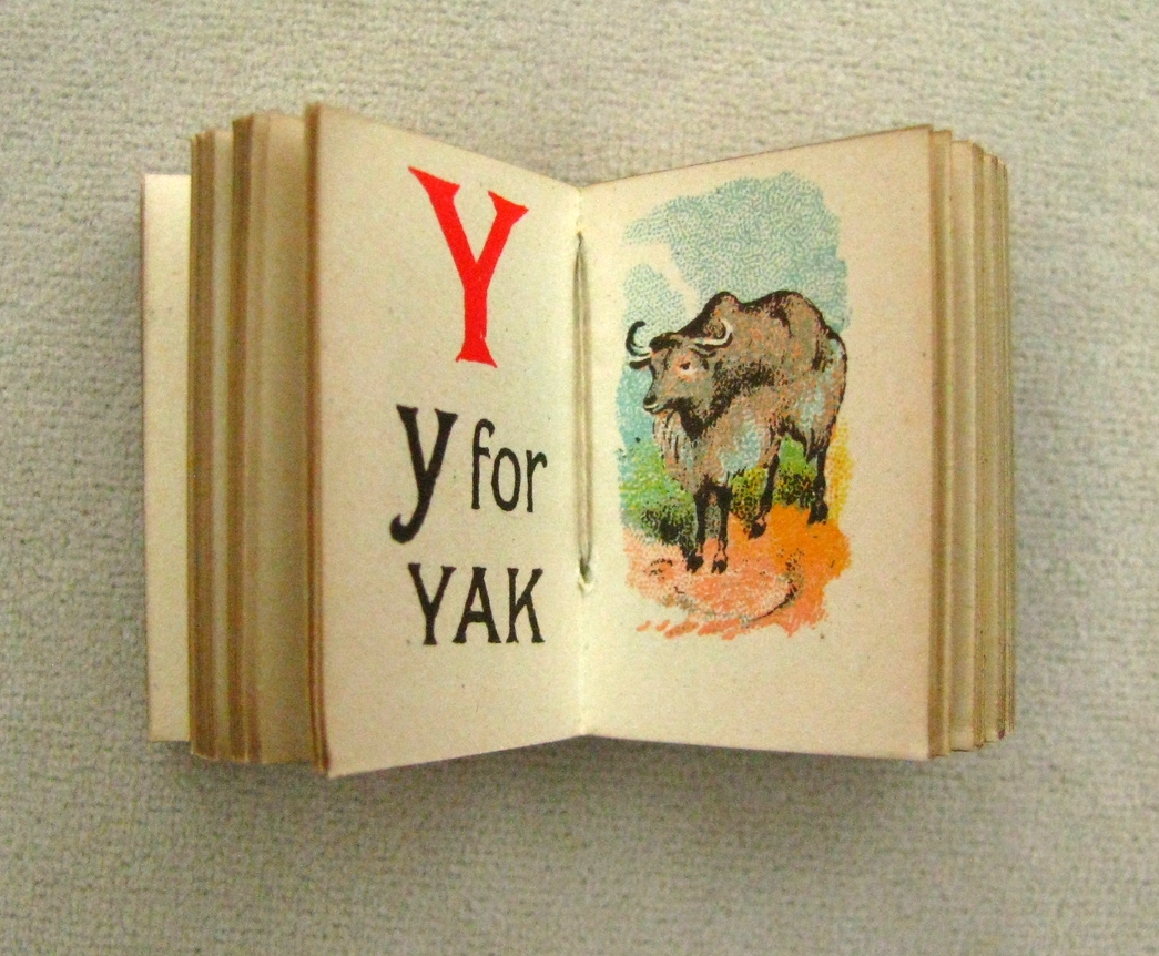 MY TINY ALPHABET BOOK