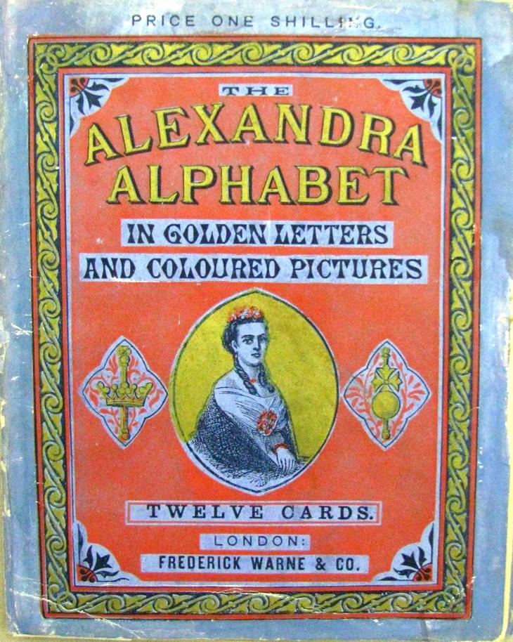 THE ALEXANDRA ALPHABET ; 1868