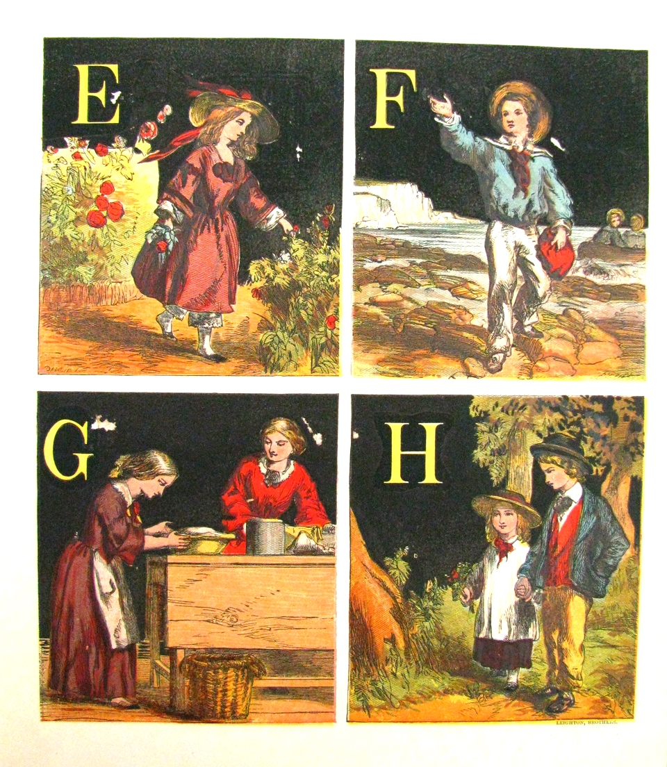 The Shilling Pretty Names Alphabet  , George Routledge & Sons