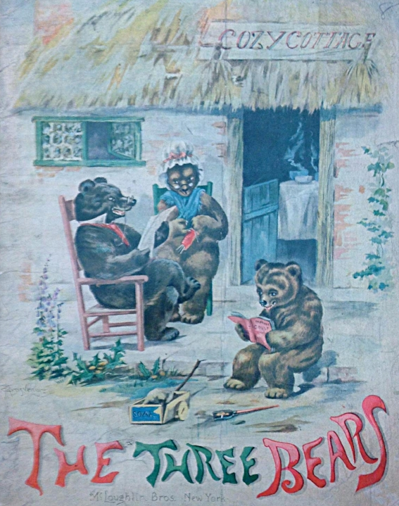 The Three Bears , illustration by Grosvenor, New York, McLoughlin Bros., 189?