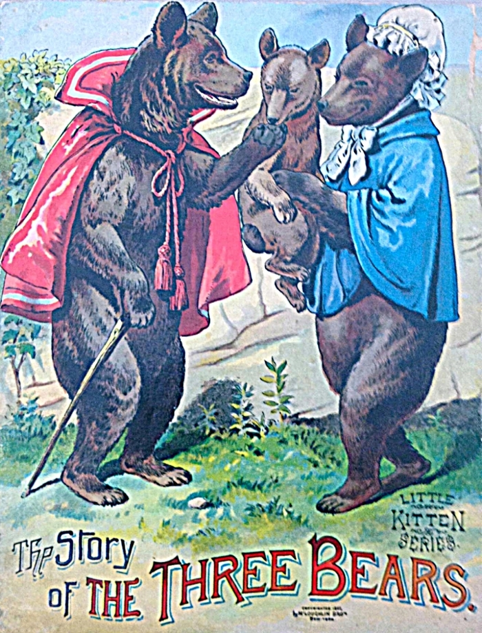 The Story of the Three Bears , Little Kitten Series, New York, McLoughlin Bros.,  1892