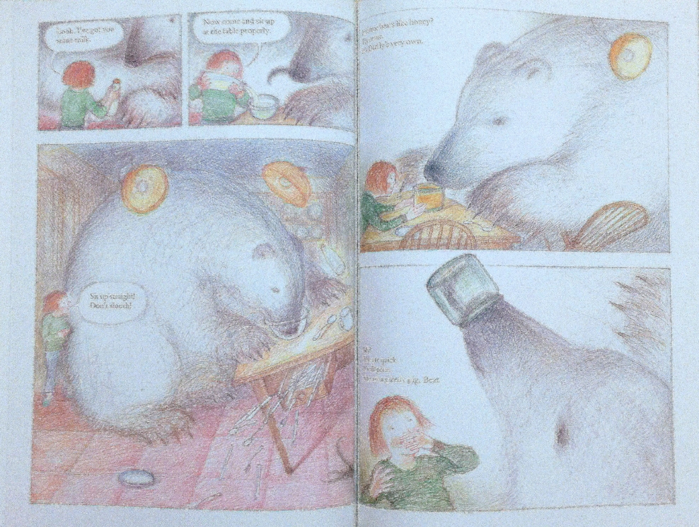 Interior pages from   The Bear