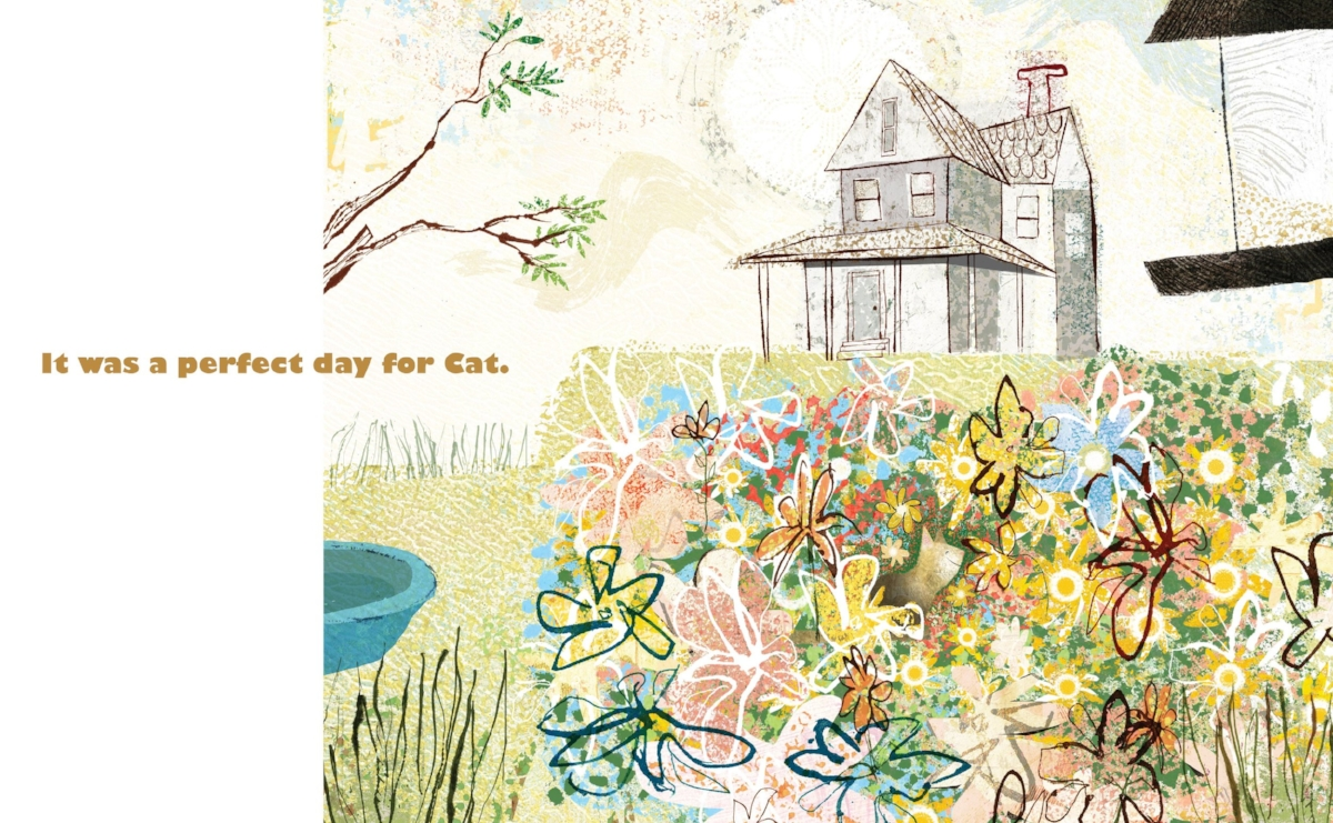 Interior spread from   A Perfect Day ,  Lane Smith