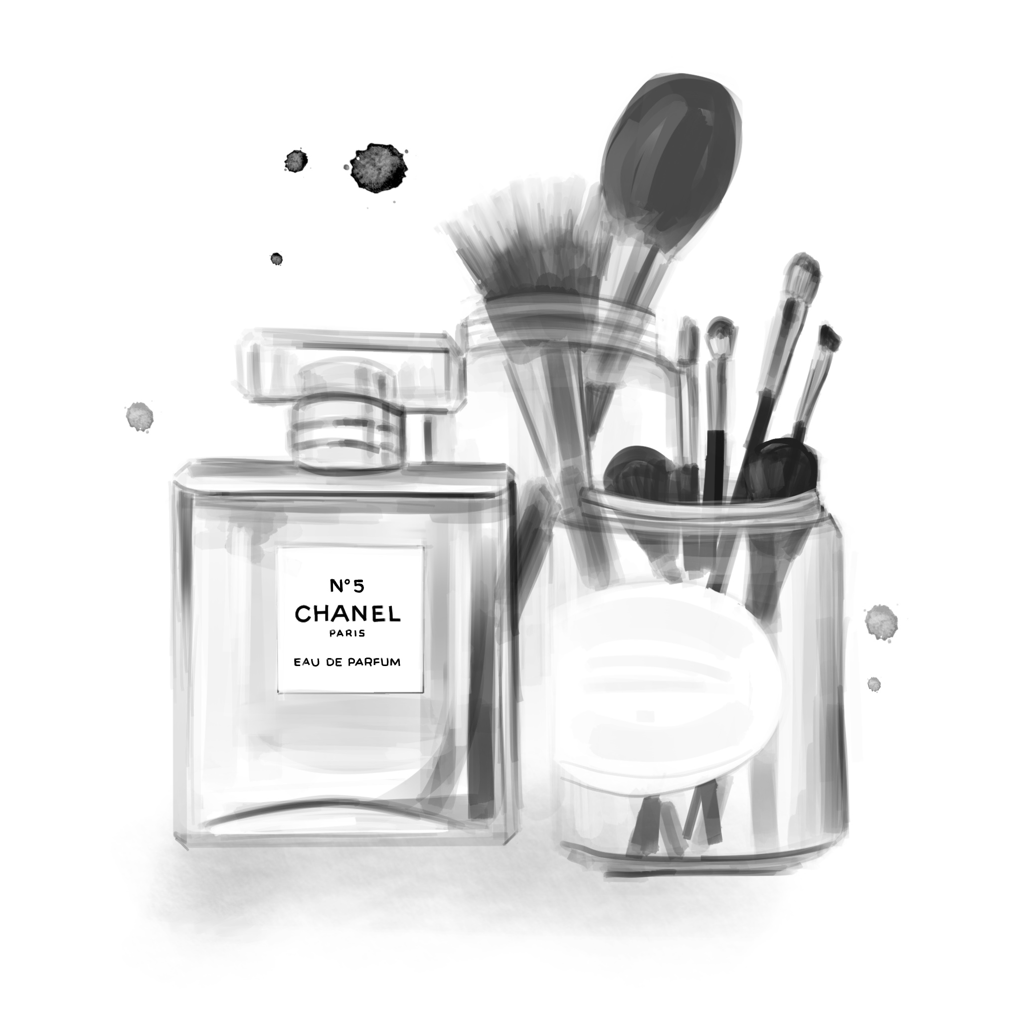 chanel-bandw-beauty-illustration-by-stephanie-anne.jpg
