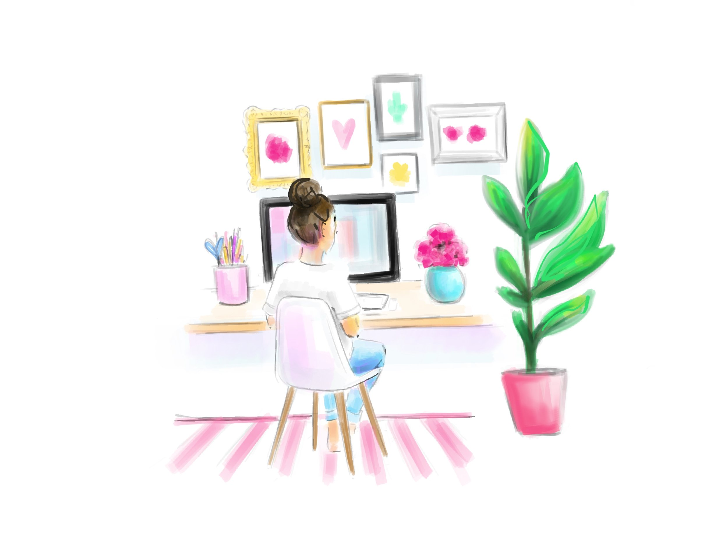girl-working-at-desk-watercolor-illustration-by-stephanie-anne.jpg