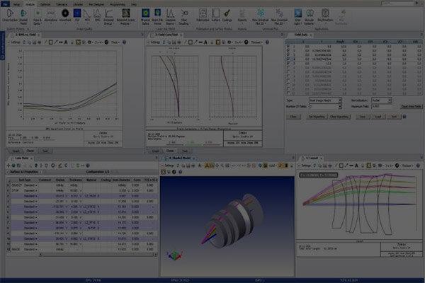 Zemax Modeling, Simulation