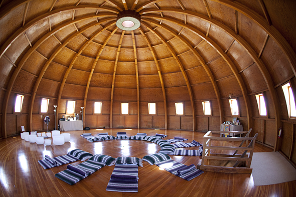 Inside the Integratron