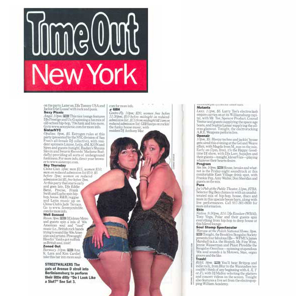 Time Out (Print) New York,  2002