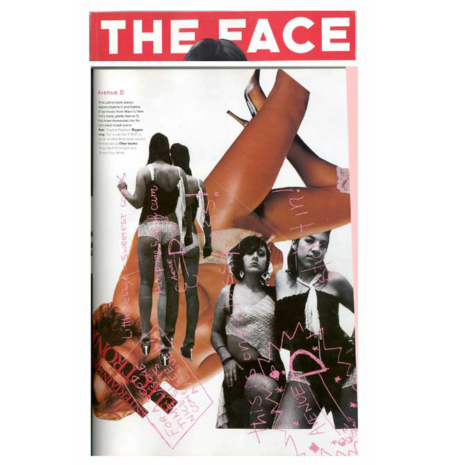 The Face (Print), 2002