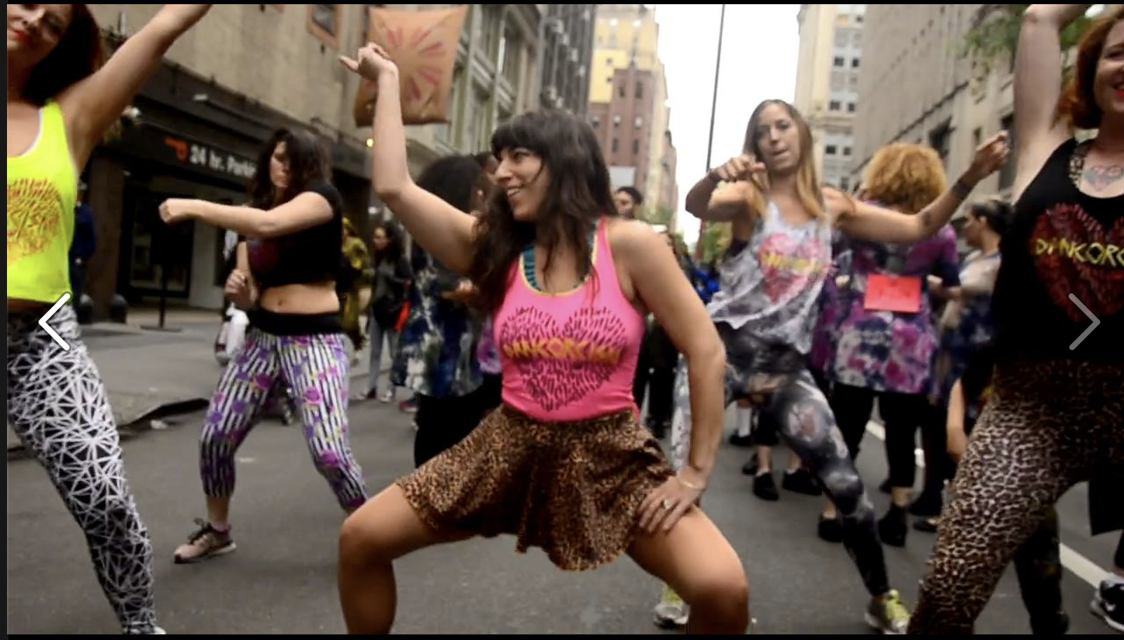 2016. Dancorcism at the NYC Dance Parade.