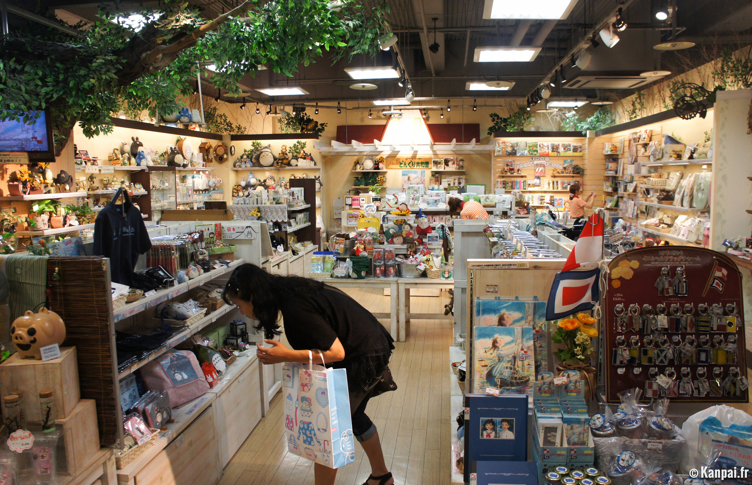 Donguri Kyowakoku, also known as the store that sells ONLY Studio Ghibli products.