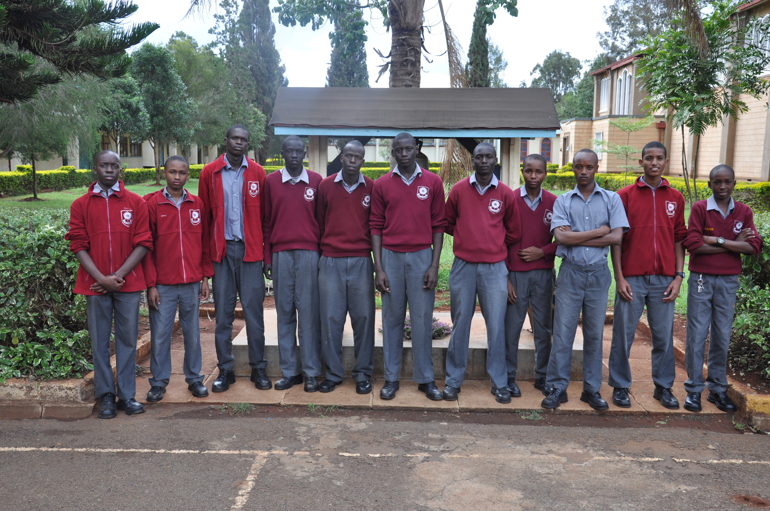 From left to right. Aswa Philip Khatiechi, Paul Ngabi mbarari, Mike Ambaka ,Abraham Mabior, Erastus Magak, Stephen Hayo, Alex Magoba, Lennox Kahati, Newton Wachira, Abdul-Aziz Shemaka, Kevin Gitahi