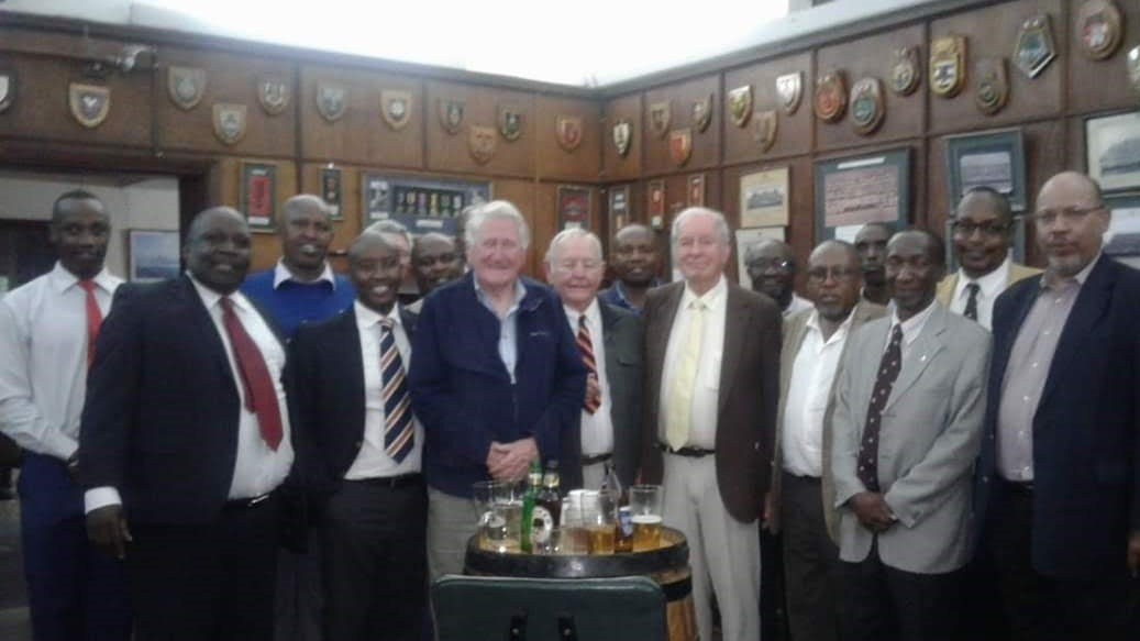 The current Laibon Committee put on the lunch and Jock Anderson obliged with his usual curry at the Kenya Regiment Club