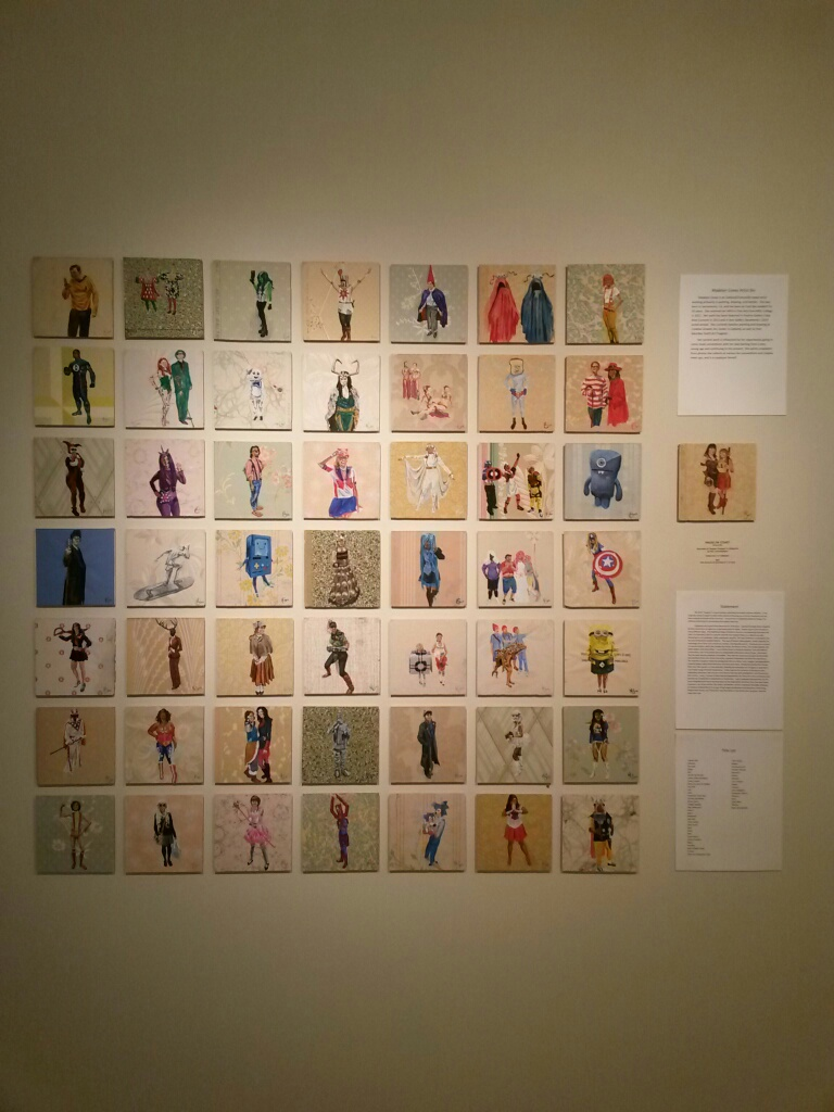 Madelyn Covey's 50|50 Display