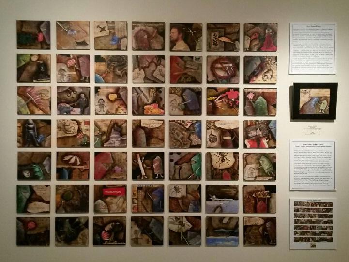 Diana Elrod's 50|50 Display