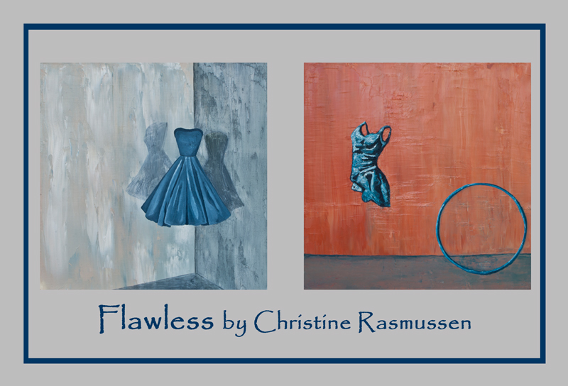 Postcard I designed for the event.  Left:   Cinderella (  prints available ).  Right:   Hula (  prints available ).