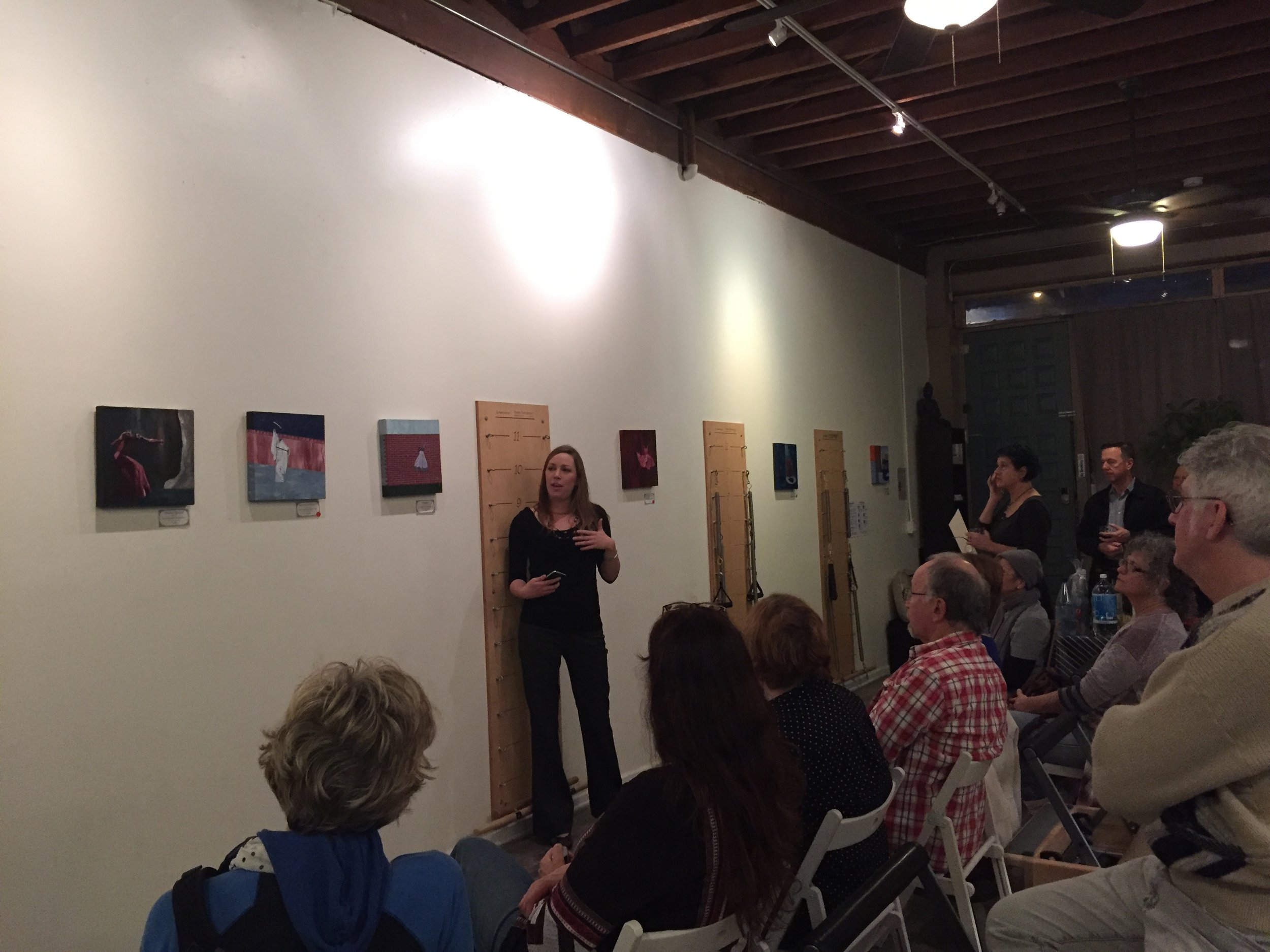 Christine Rasmussen sharing about her  Flawless  series.