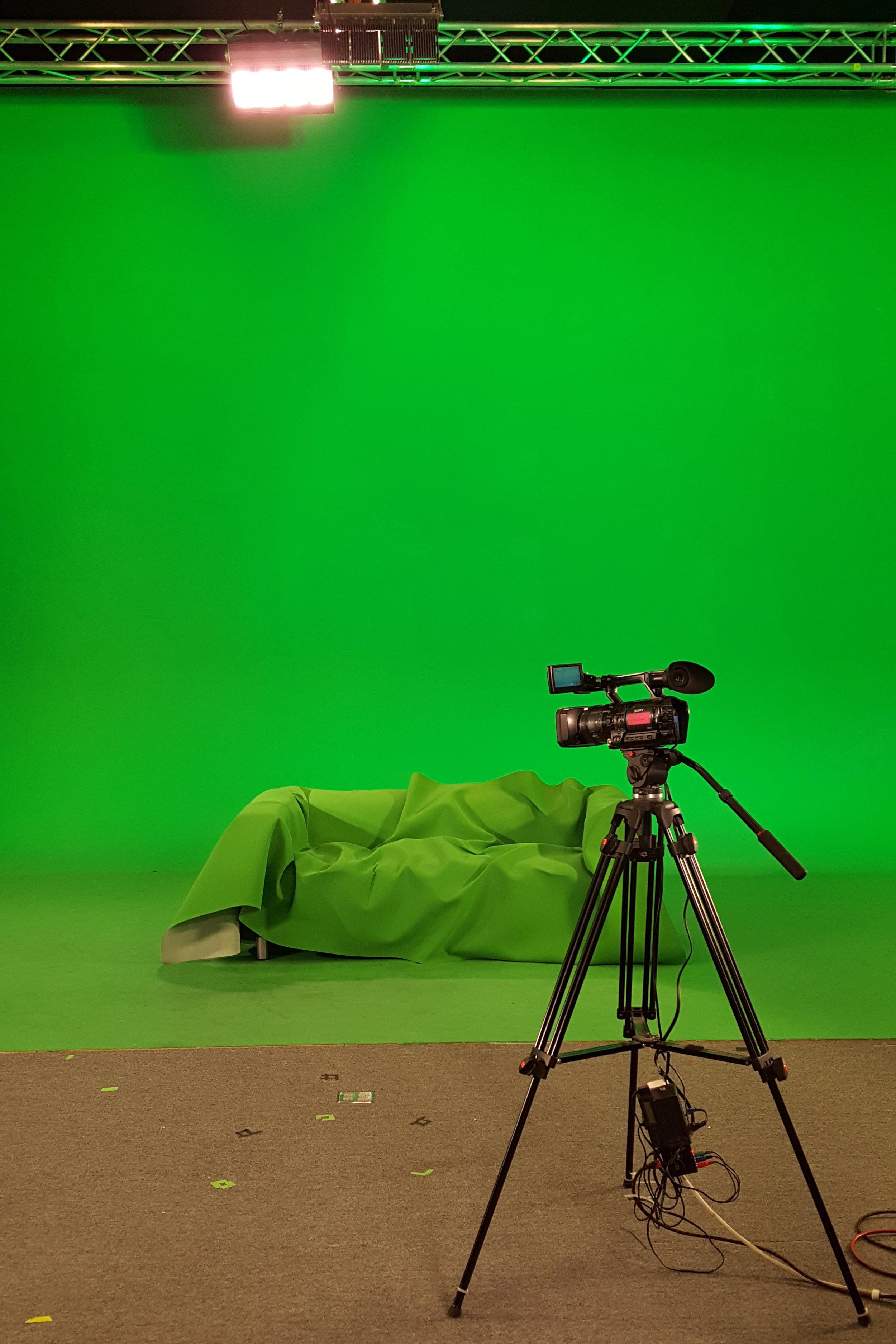 The set at  Dromebox Labs . || Photo Credit: C. Rasmussen