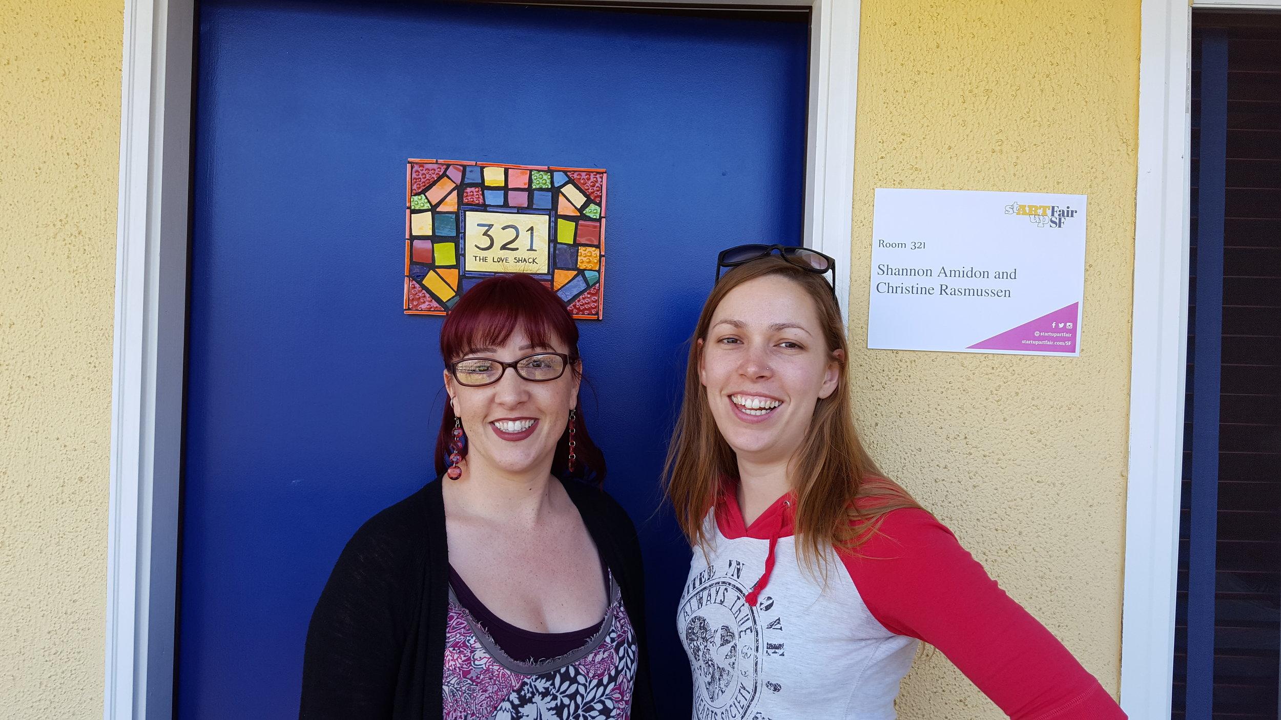 Shannon Amidon & Christine Rasmussen