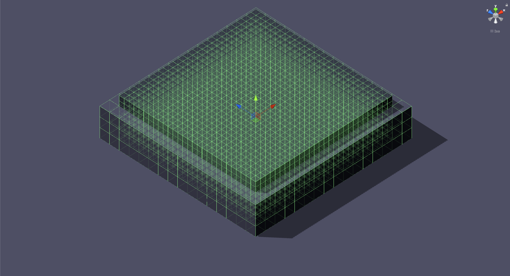6452 cubes make up one of the large obstacles in the green level.