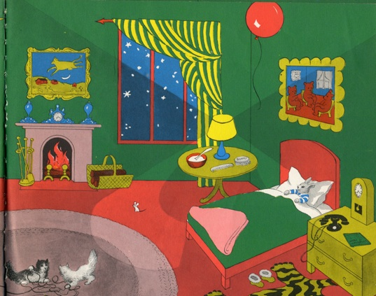 Illustration from  Goodnight Moon  by Clement Hurd