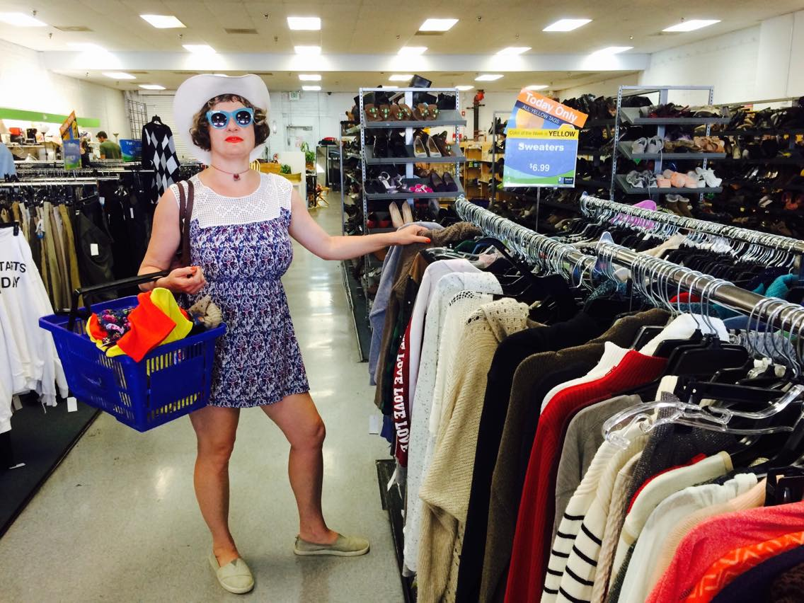 One of many LA thrift store visits! Goodies But Oldies.