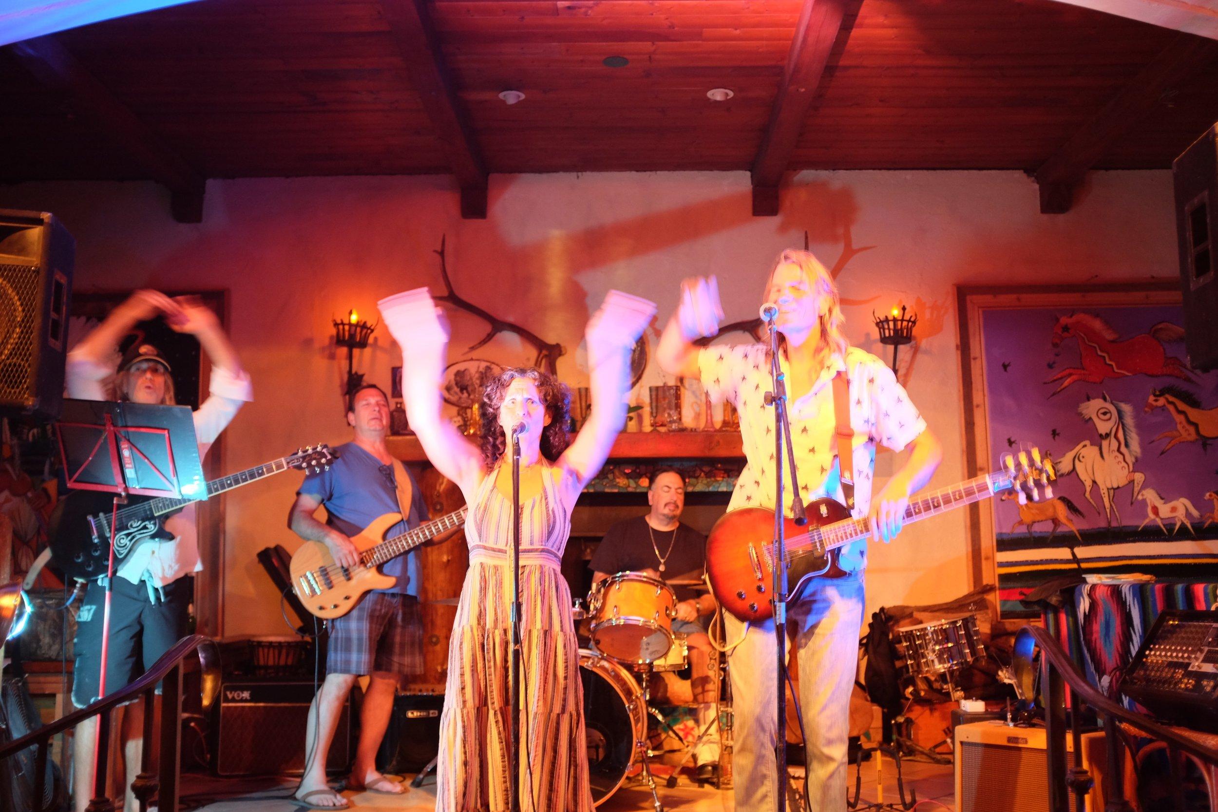 Jules & Johnny Nation and band