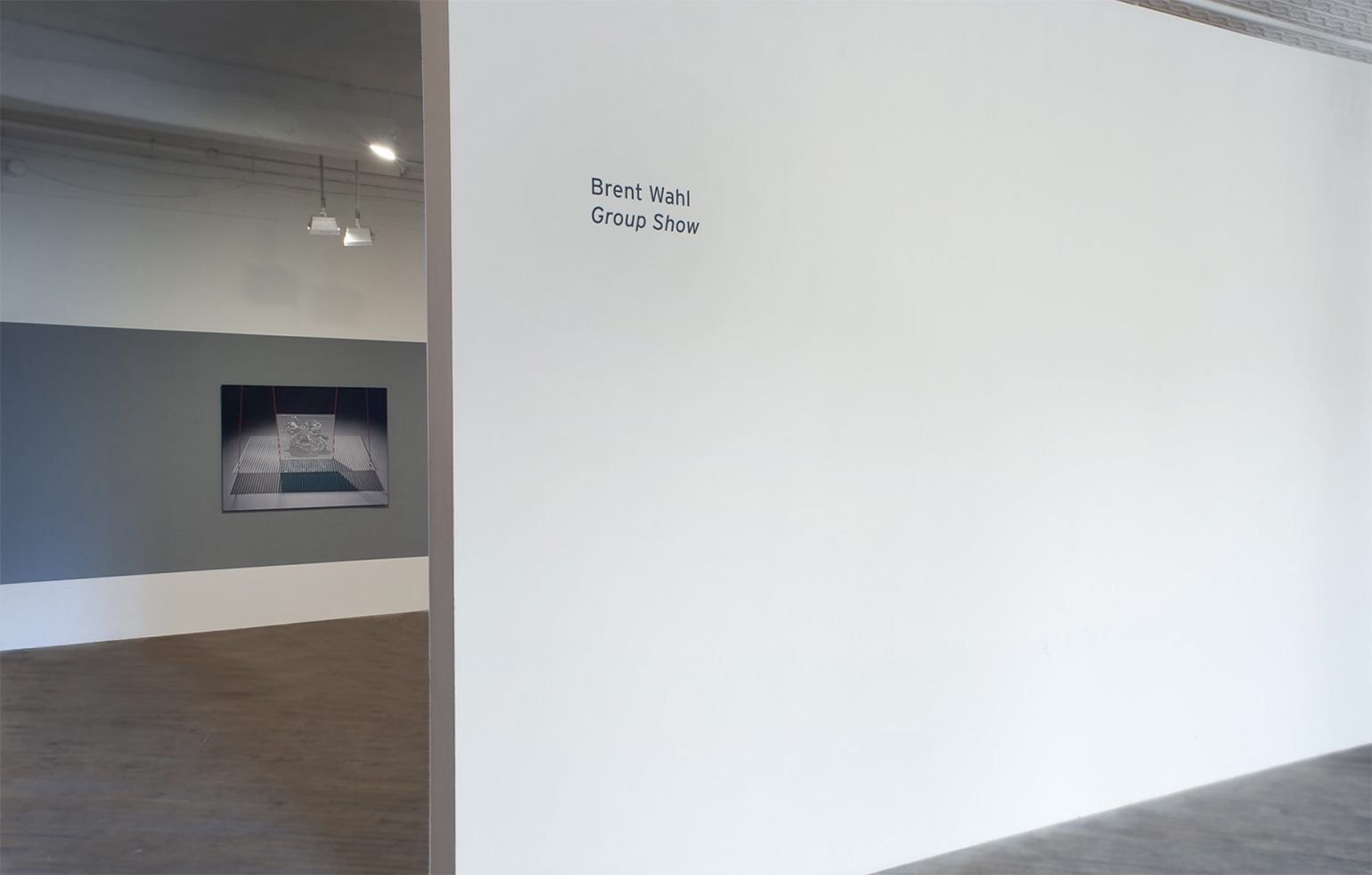 Installation view of  Group Show  at Vox Populi, 2011