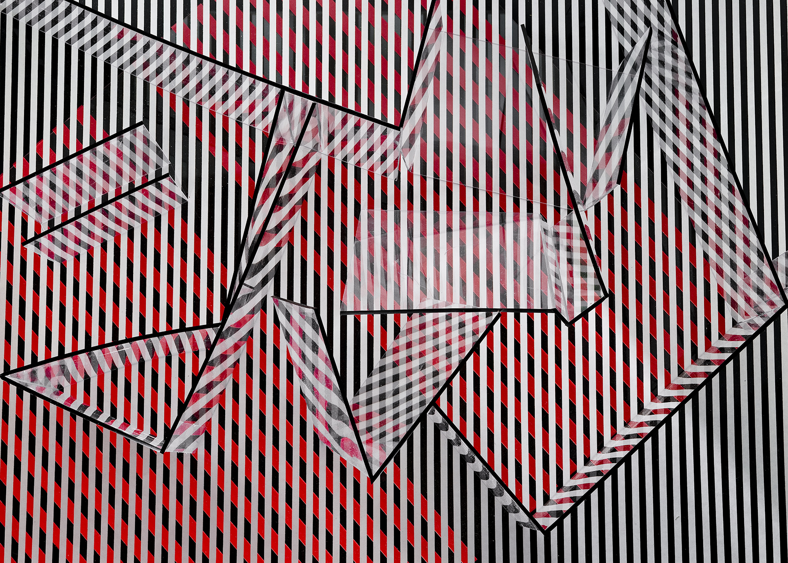 untitled (red, white, & black / no.1)  , 2012  8 x 10 inches archival pigment print © Brent Wahl