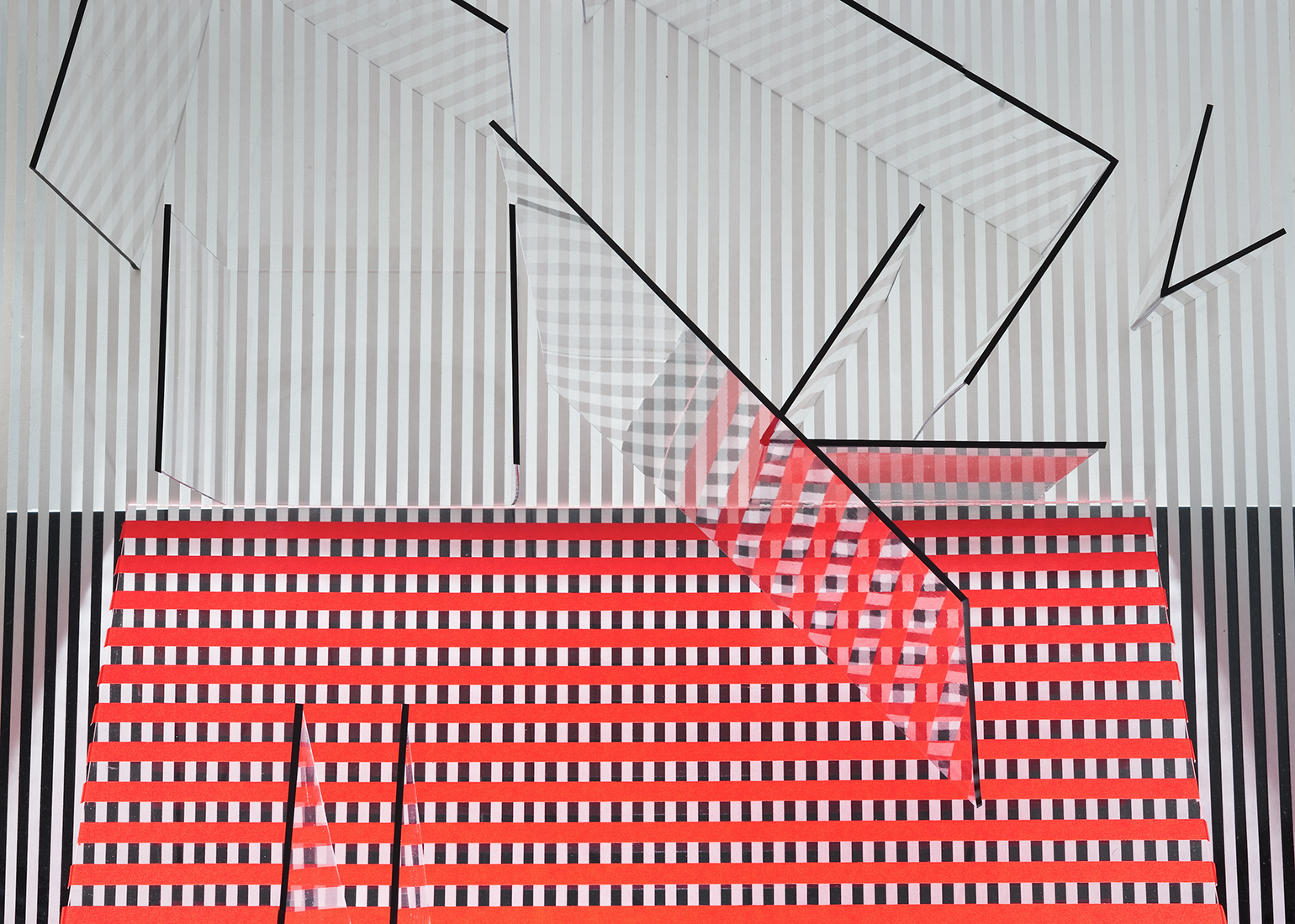 untitled (red, white, & black / no.3)  , 2012  8 x 10 inches archival pigment print © Brent Wahl