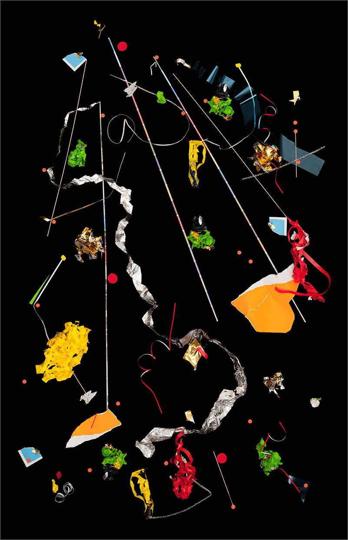 debris site #3 (studio)   , 2011 52 x 35 inches  archival pigment print  © Brent Wahl