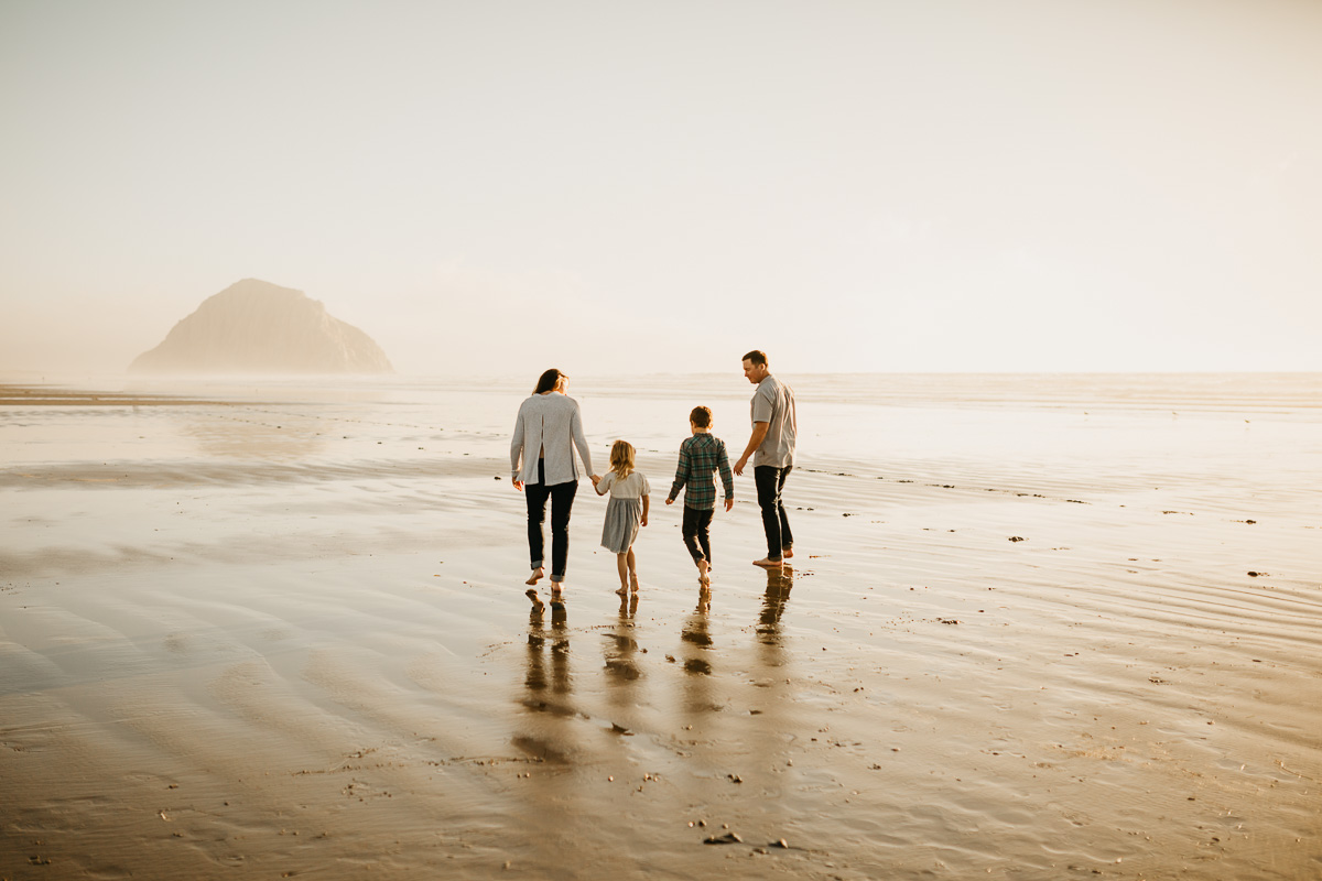 morro bay beach family photo session | www.tamarawickstrom.com