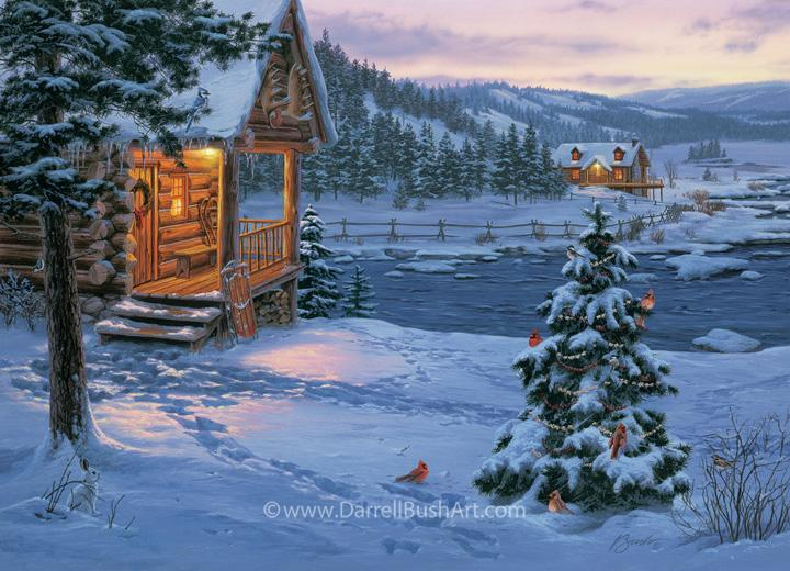 Deck the halls with one of my original paintings this Holiday Season -