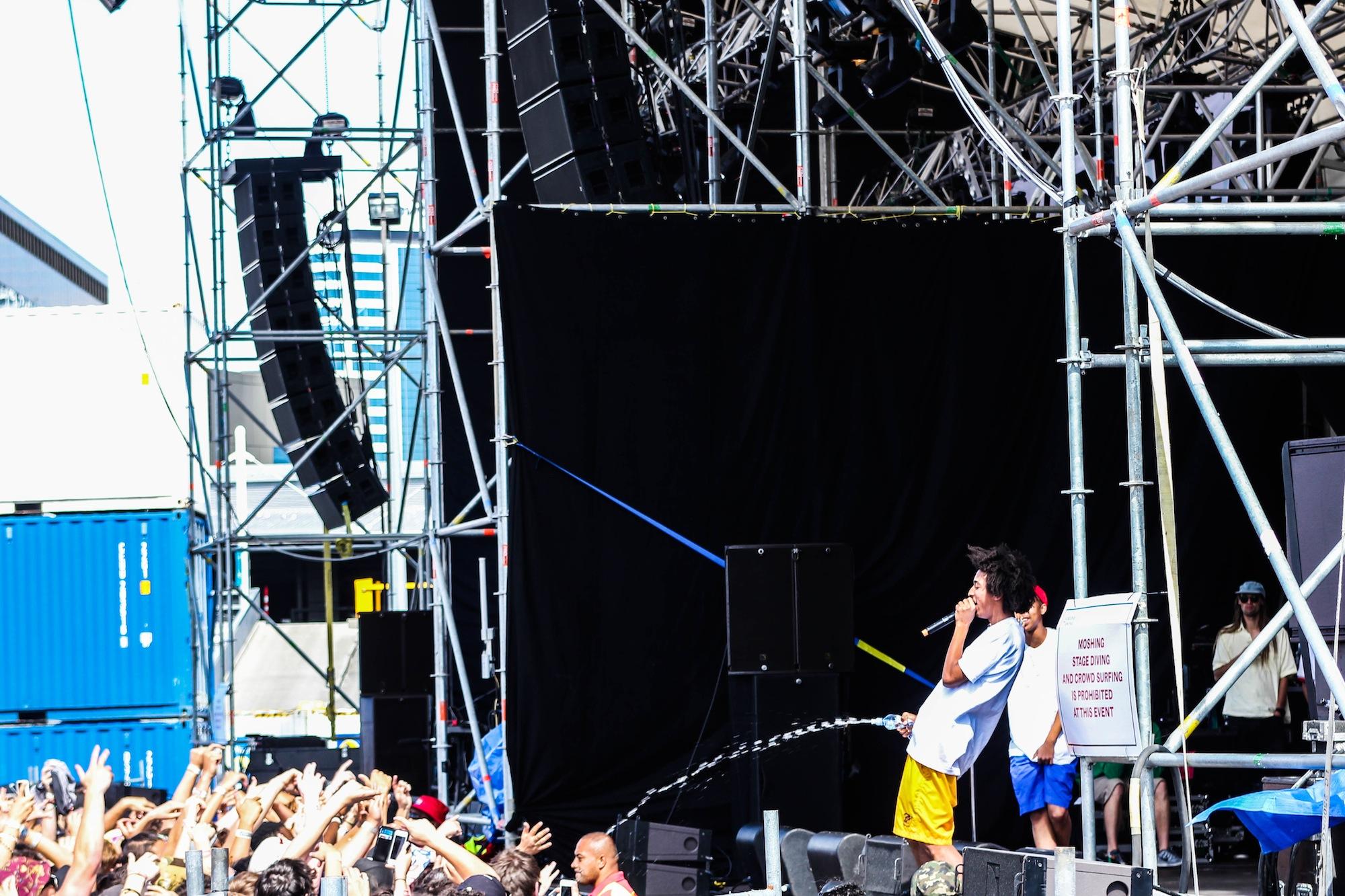 Earl Sweatshirt - Laneway Festival Auckland 2014