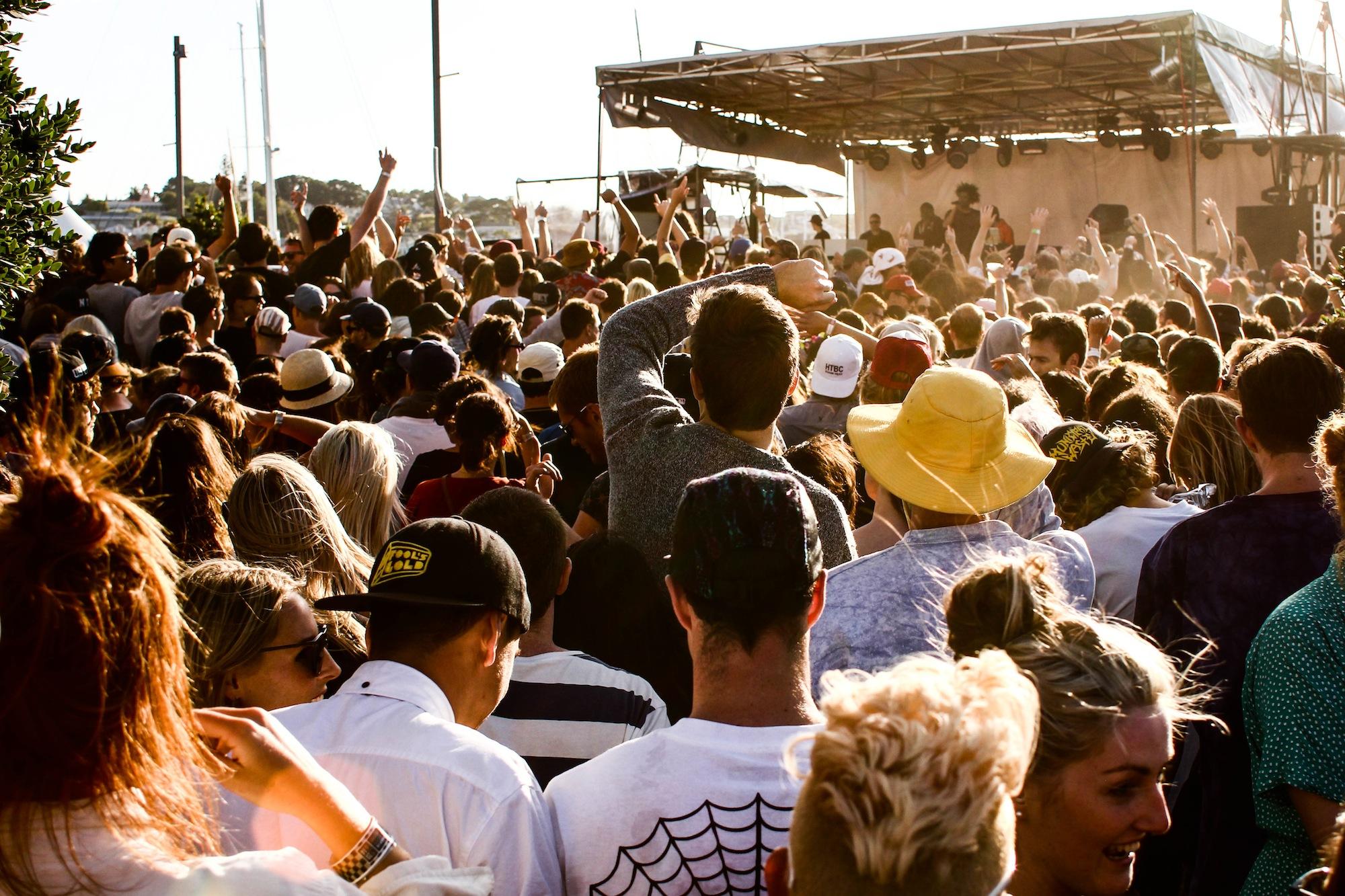 Danny Brown - Laneway Festival Auckland 2014