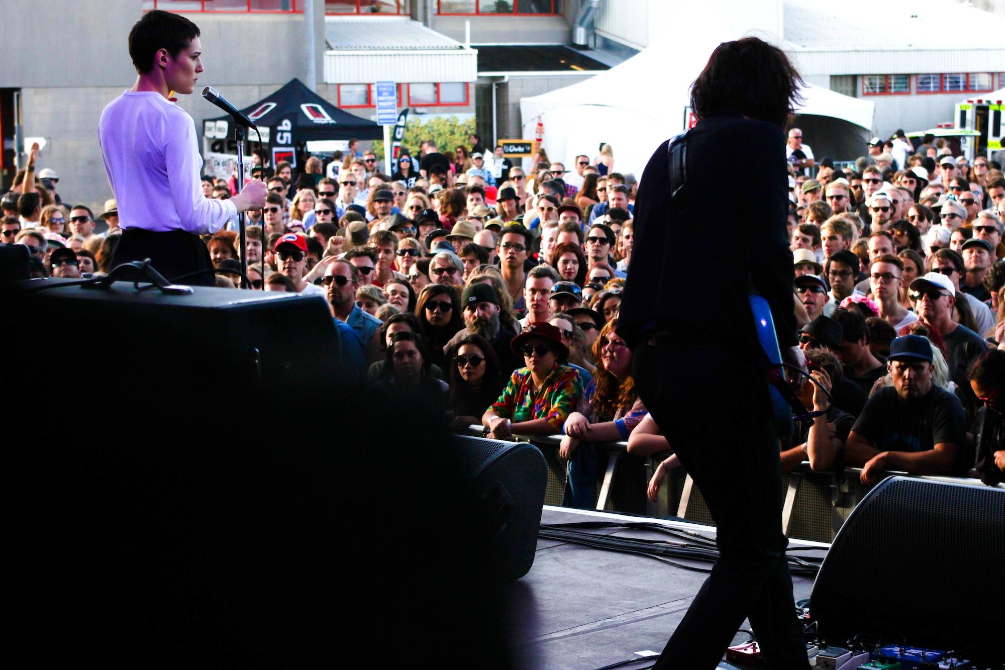 Savages - Laneway Festival Auckland 2014